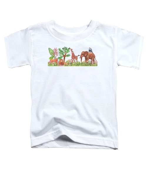 All Is Well In The Jungle Toddler T-Shirt