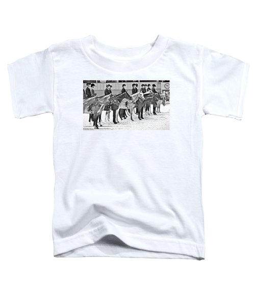 All Lined Up Toddler T-Shirt