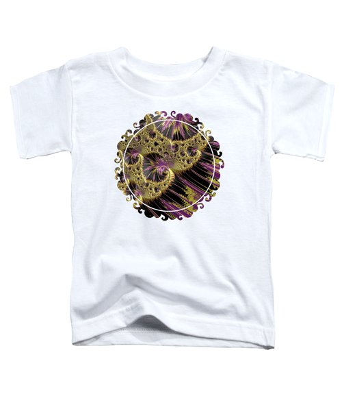 All That Glitters Toddler T-Shirt by Becky Herrera