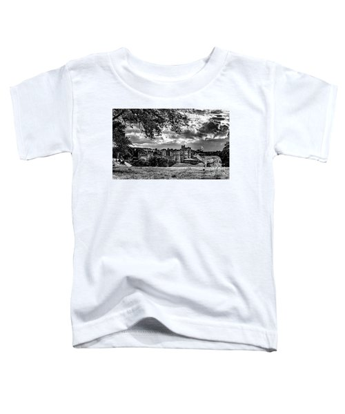 Alnwick Castle And Fallow Deer Toddler T-Shirt