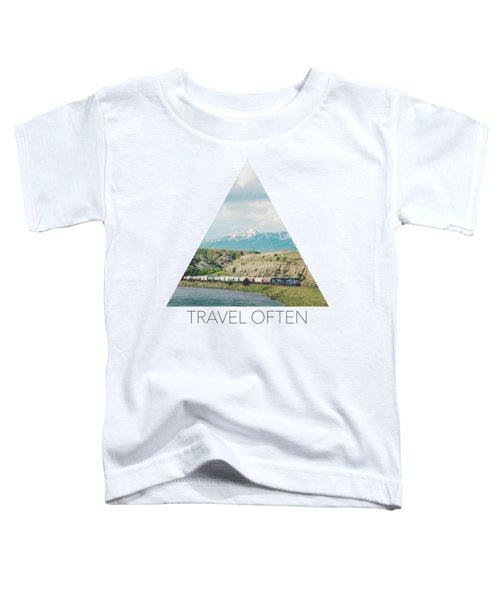 Along The Yellowstone Toddler T-Shirt
