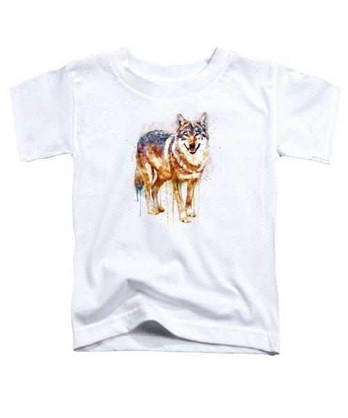 Alpha Wolf Toddler T-Shirt