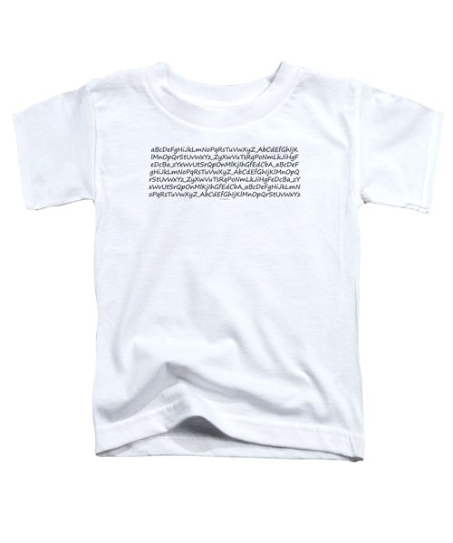 Alphabet Toddler T-Shirt