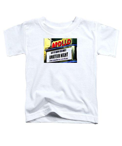 Amateur Night Toddler T-Shirt by Ed Weidman