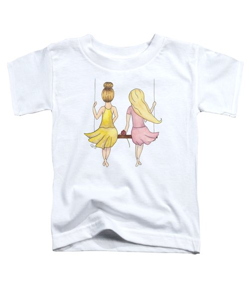 Amelia And Lillian Toddler T-Shirt