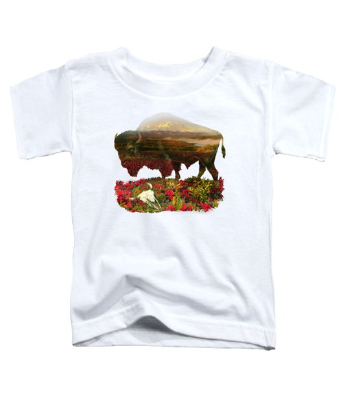 American Buffalo Toddler T-Shirt