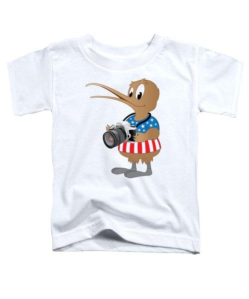 American Kiwi Photo Toddler T-Shirt