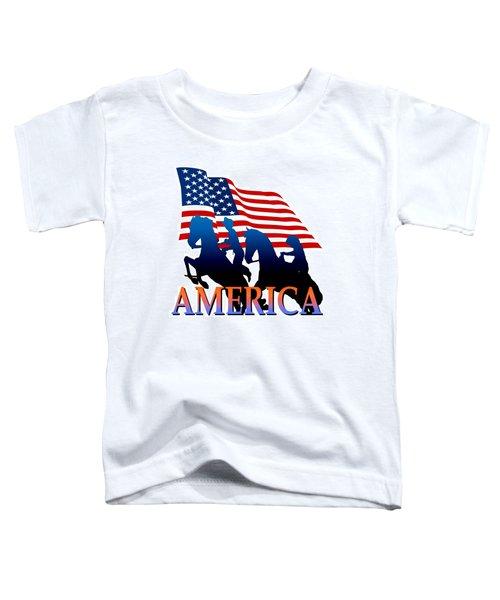 American Pioneer Design Toddler T-Shirt
