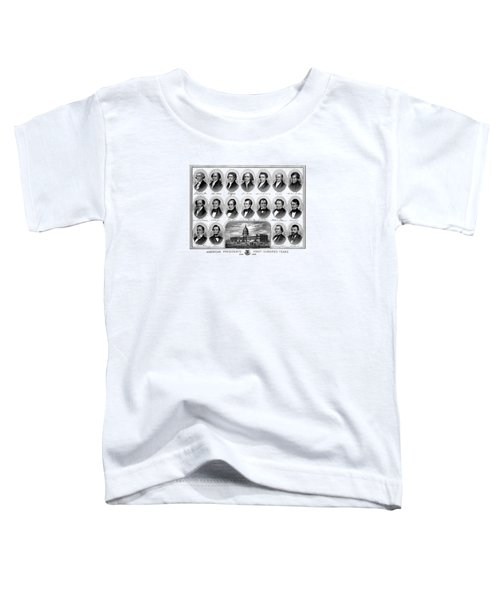 American Presidents First Hundred Years Toddler T-Shirt by War Is Hell Store
