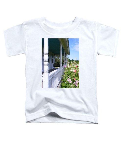 Amish Porch Toddler T-Shirt