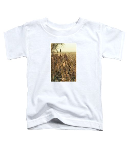 *among The Reeds  #landscape Toddler T-Shirt