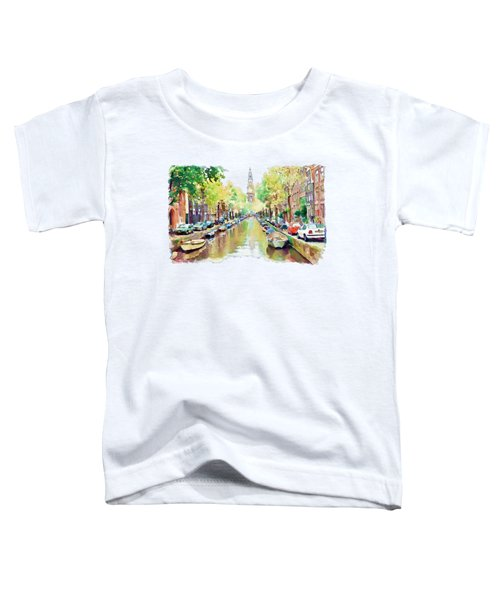 Amsterdam Canal 2 Toddler T-Shirt