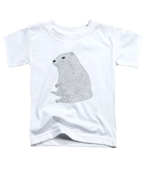 An Elusive Marmot Toddler T-Shirt