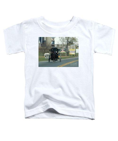 An Evening Ride Toddler T-Shirt