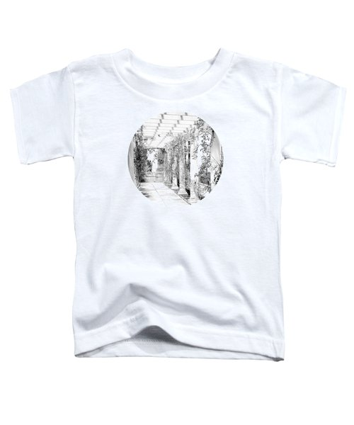 An Eye For Beauty- Black And White Version Toddler T-Shirt