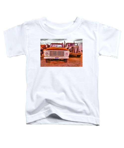 An Old Ford And Kenworth Toddler T-Shirt