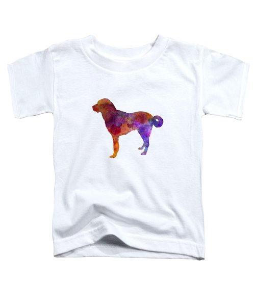 Anatolian Shepherd Dog In Watercolor Toddler T-Shirt
