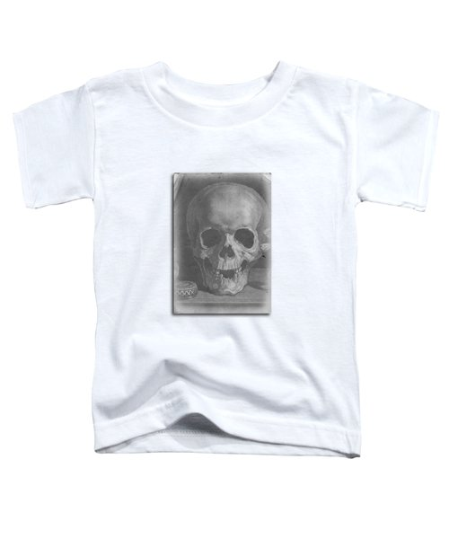 Ancient Skull Tee Toddler T-Shirt by Edward Fielding