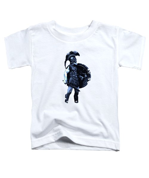 Ancient Spartan Hoplite Toddler T-Shirt
