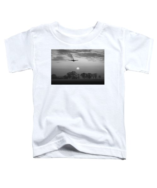 And Finally Black And White Version Toddler T-Shirt