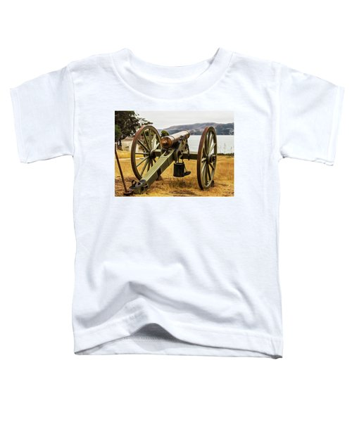 Angel Island Cannon Toddler T-Shirt