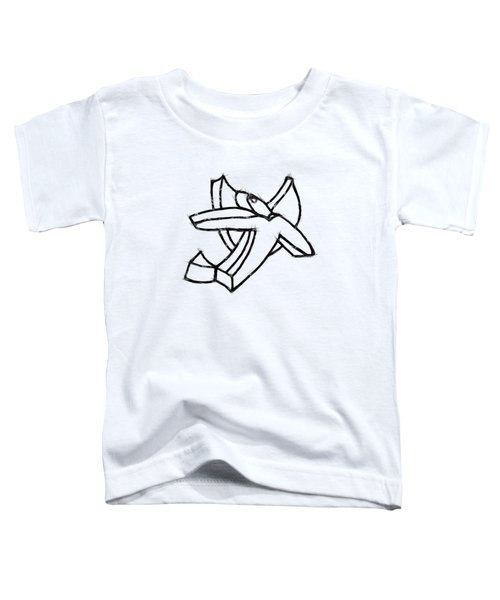 Angelic Toddler T-Shirt by Michelle Calkins