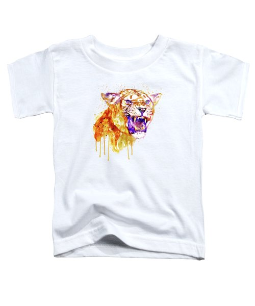Angry Lioness Toddler T-Shirt