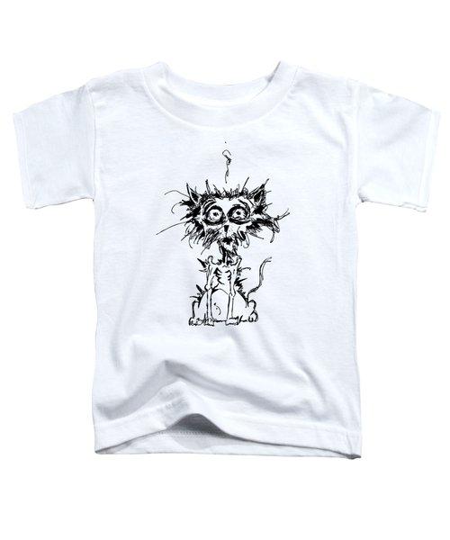 Angst Cat Toddler T-Shirt