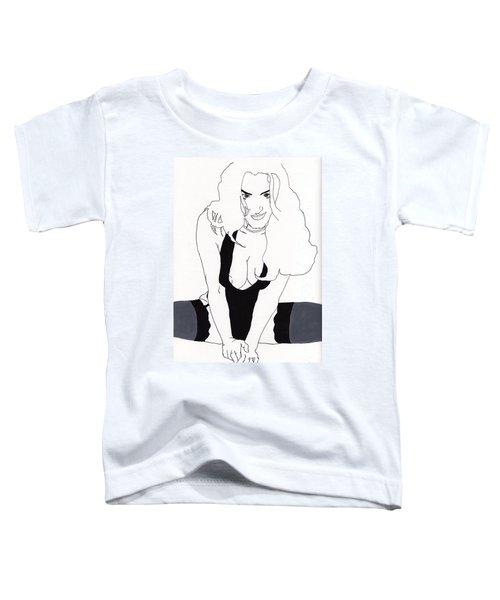 Anna-black Stockings Toddler T-Shirt