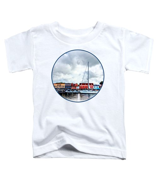 Annapolis Md - City Dock Toddler T-Shirt