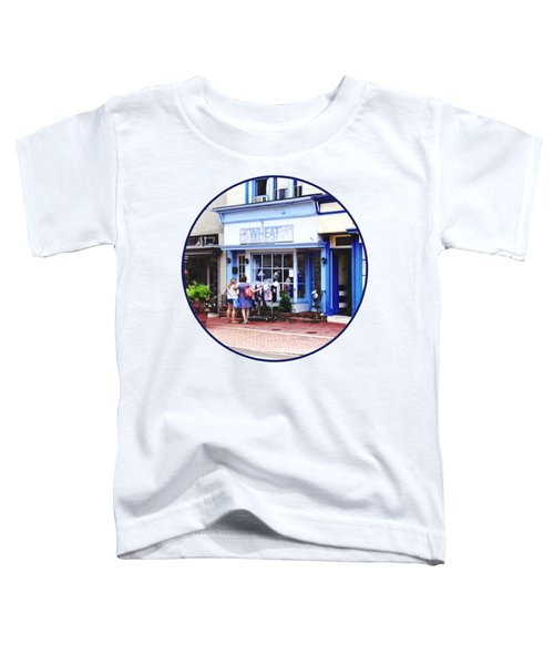 Annapolis Md - Shopping On Main Street Toddler T-Shirt