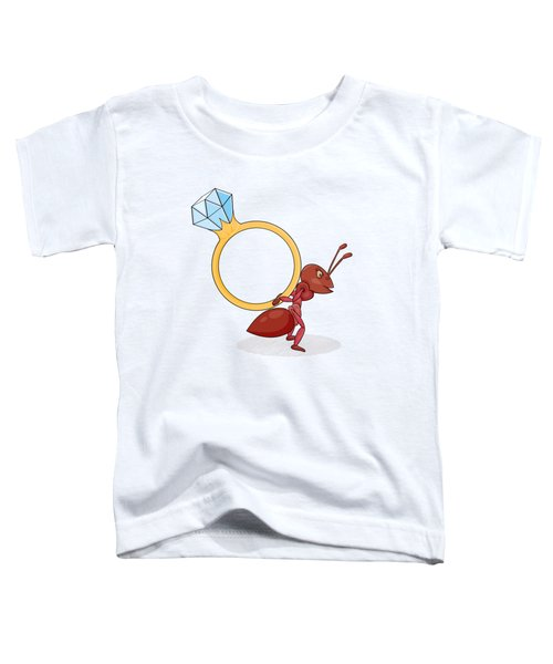 Ant With Big Ring Toddler T-Shirt