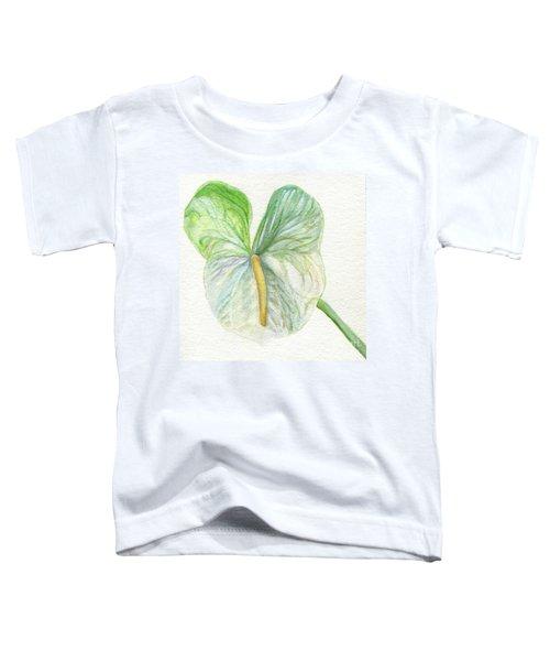 Anthurium Toddler T-Shirt