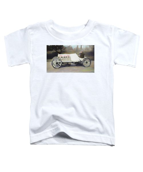 Antique Fiat Racer Dop Toddler T-Shirt