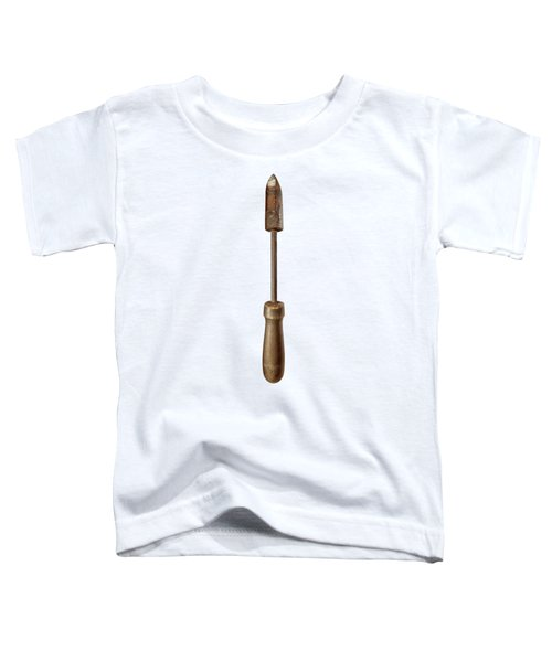 Antique Soldering Iron On Color Paper Toddler T-Shirt