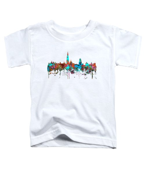 Antwerp Belgium Skyline Toddler T-Shirt