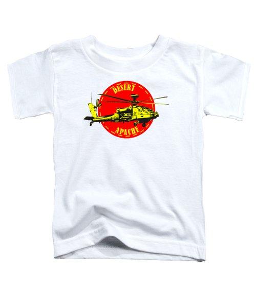 Apache On Desert Toddler T-Shirt