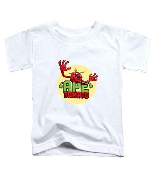 Ape Tomato Toddler T-Shirt by Nicolas Palmer