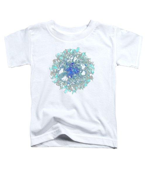 Aqua Art By Kaye Menner Toddler T-Shirt by Kaye Menner