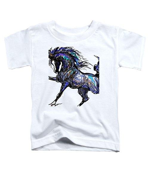 Arabian In Blue Toddler T-Shirt