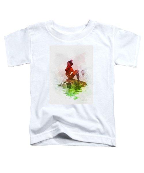 Ariel On The Rock Toddler T-Shirt