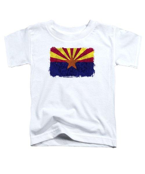 Arizona Flag Toddler T-Shirt