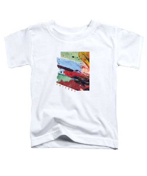 Arizona Map Art - Painted Map Of Arizona Toddler T-Shirt