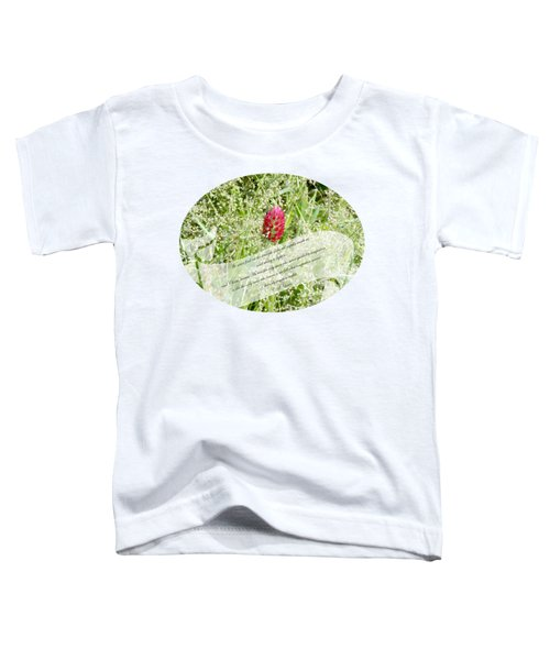 Army Of One - Quote Toddler T-Shirt