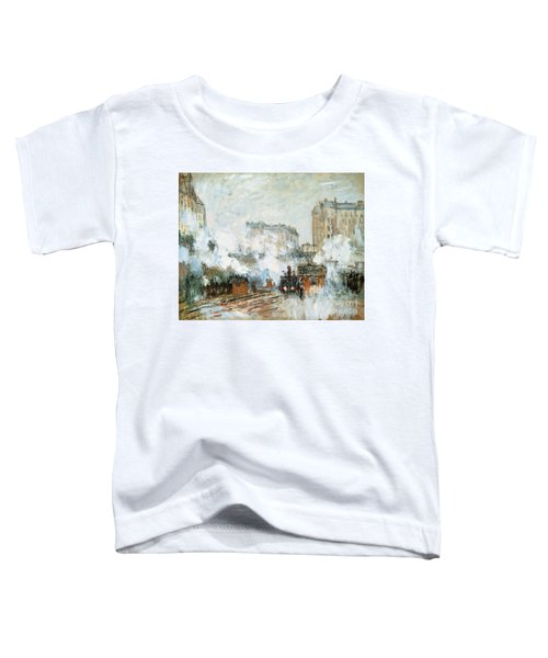 Arrival Of A Train Toddler T-Shirt