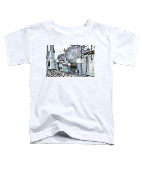 Art Print Boat 2 Toddler T-Shirt
