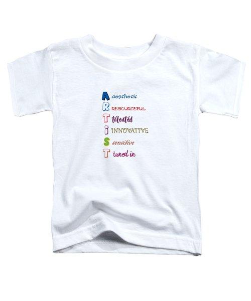 Artist Analogy Toddler T-Shirt