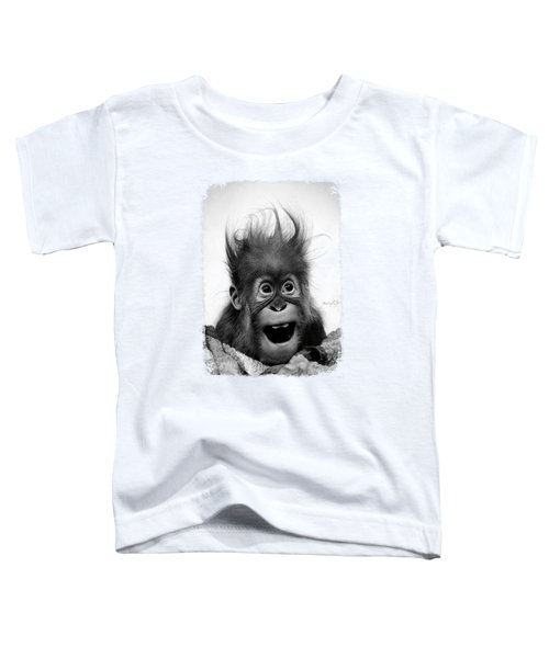 Don't Panic Toddler T-Shirt