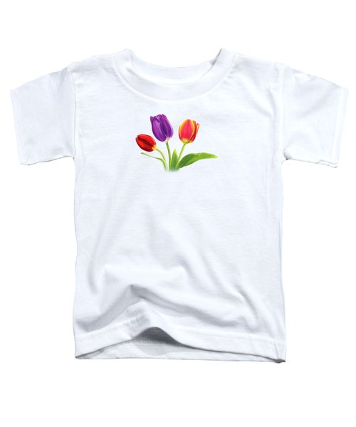 Tulip Trio Toddler T-Shirt
