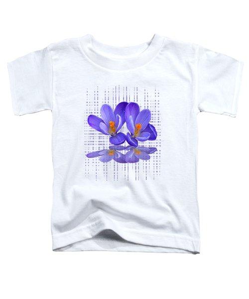 Purple Rain - Vertical Toddler T-Shirt